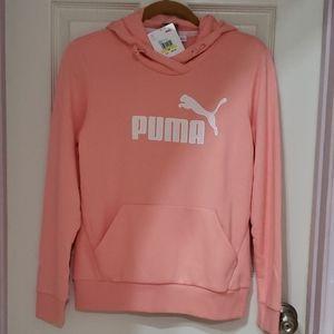 New Peach Puma Ms Active Hoody Jacket